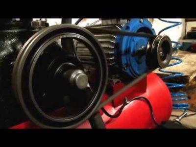 как сделать компрессор из зиловского компрессора