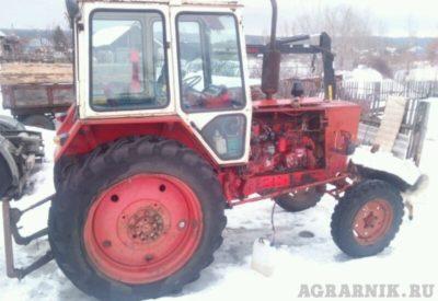 сколько весит трактор юмз