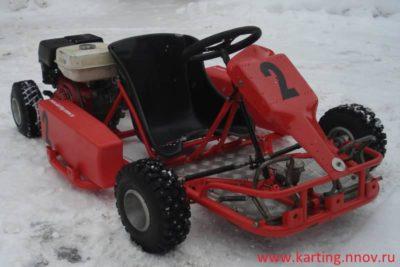 как сделать снегоход из бензопилы