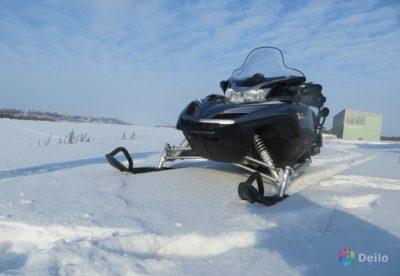 как сделать снегоход из мотоцикла