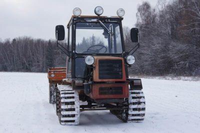 как сделать гусеничный трактор