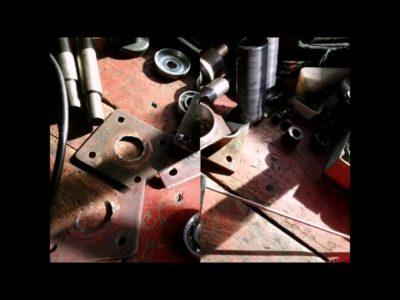 как поставить колеса от жигулей на мотоблок