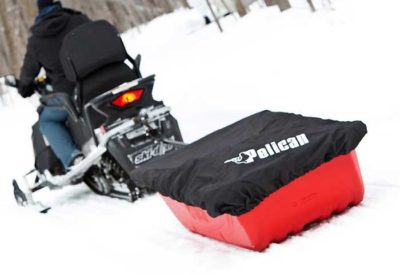 как сделать сани для снегохода