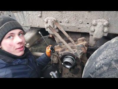как отрегулировать тормоза на камазе