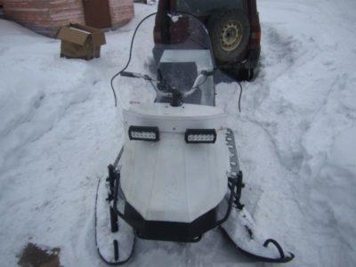 как из скутера сделать снегоход