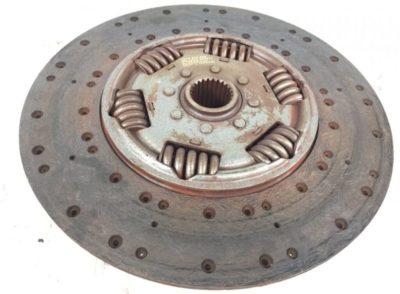 как ставятся диски сцепления на камазе