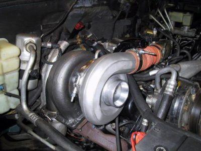 как работает турбина дизельного двигателя