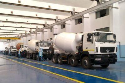 где производят грузовые автомобили