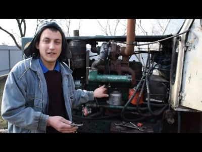 мтз 82 какой двигатель