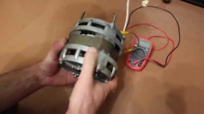 как сделать генератор из электродвигателя