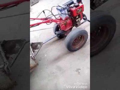 как на мотоблок поставить колеса от жигулей