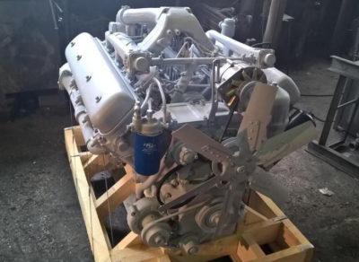 какой двигатель стоит на т 150