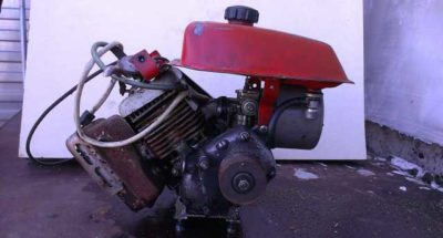 какой двигатель поставить на крота