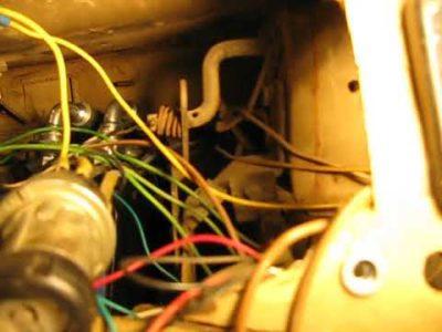 как установить зажигание на уаз 417 двигатель