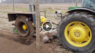 как сделать фрезу для трактора
