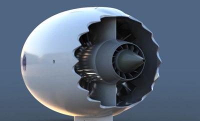 как работает турбина самолета