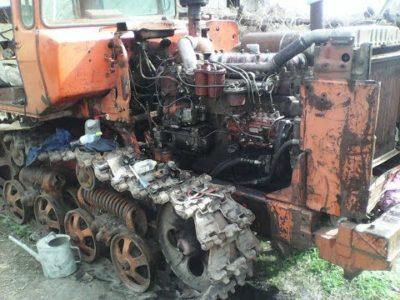 как заводить трактор с пускача