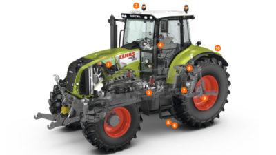 что такое тяговый класс трактора