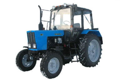 сколько весит трактор мтз 80