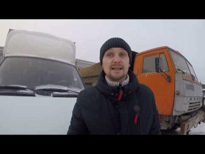 как завести камаз в мороз