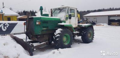 сколько весит трактор т 150