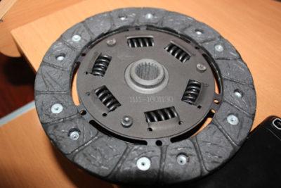 как ставится диск сцепления